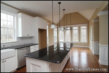 Kitchen Cabinet Color Trends | Custom Home Kitchen Design