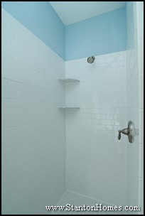 Blue Bathroom Design Photos | Raleigh NC New Homes