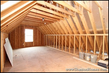 How Much Does It To Finish A Third Floor Or Attic Nc Homes