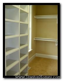 Closet Idea #2   Shelving Designed For Baskets And Bins