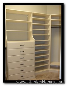 Closet Ideas | Closet Pictures | Raleigh Custom Home Builders