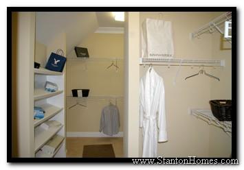 Closet Ideas | Closet Pictures | Raleigh Custom Home Builders