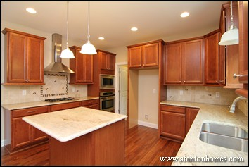 how to choose new home kitchen cabinets   tips on nc kitchen design new home building and design blog   home building tips   kitchen      rh   info stantonhomes com