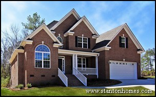 Raleigh Floor Plans   Front Entry Garage