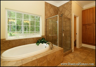 Master Bathrooms with Cabinet Storage   Storage Ideas for the Master Bath