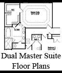 Dual Master Bedroom Homes