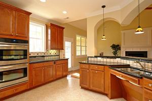 Kitchen Island Design   NC Custom Homes