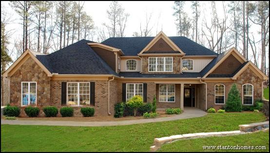 Brick Home Ideas   Homes Made of Brick