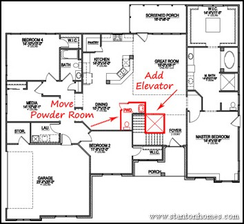 Specially Adapted Housing approved floor plans