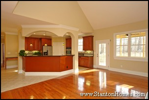 Kitchen Open to Great Room