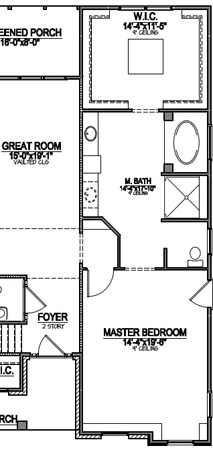 Master Suite Layout #1   The Dugan