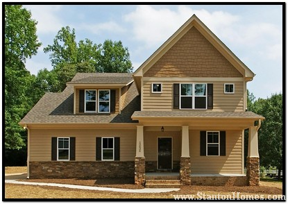 Craftsman floor plans | Craftsman new homes in Raleigh