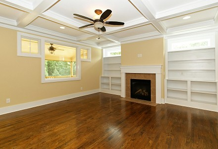 NC Custom Home Builders   New Home Fireplace Trends