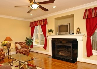 Fireplace Entertainment Center Custom Homebuilders