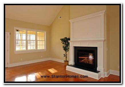 Fireplace Design Ideas   NC Custom Home Builders   Raleigh New Homes