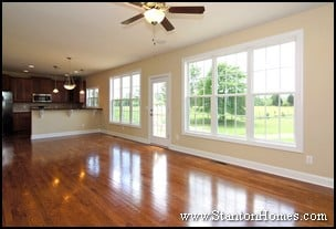 New Home Hardwood Floors
