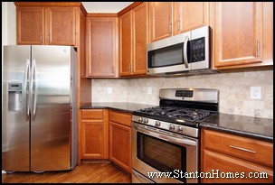 Stainless Steel Appliances | New Home Kitchen Design