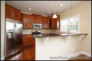 Peninsula Kitchen Design Part 58