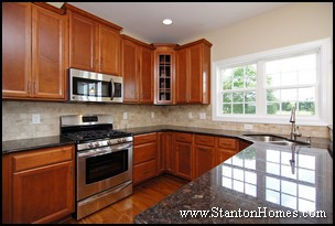 Custom Home Granite Countertops