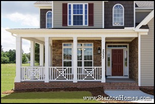 New Homes with Wrap Around Porch