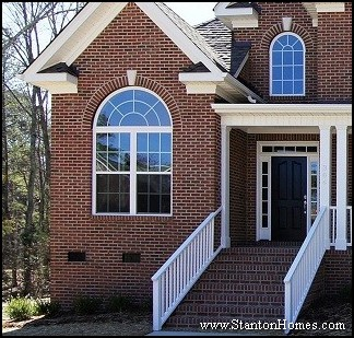 Custom Home Half Round Window Selections