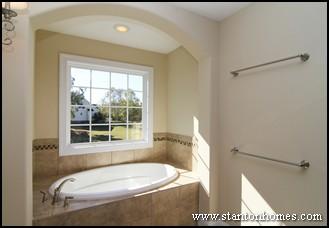 2012 Custom Home Master Bathroom Design