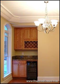 Types of Built-in Wine Racks   Raleigh Kitchen Design Trends 2012