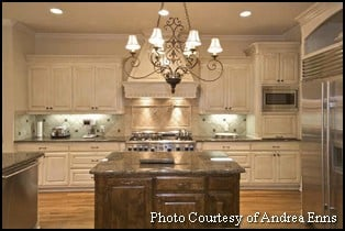 Kitchen Cabinet Dual Finishes