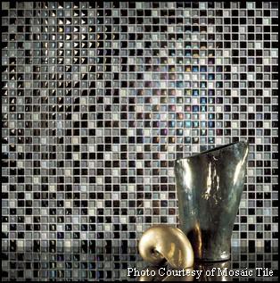 Mosaic Tile Glass Backsplash