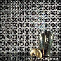 Mosaic Tile Glass Backsplash