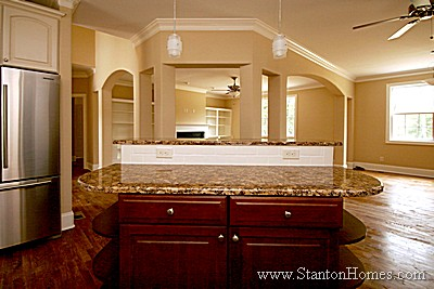 Kitchen Island Design Ideas | NC Custom Homes