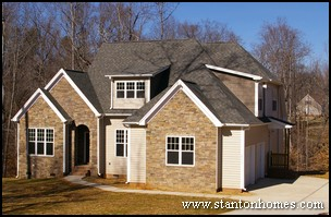 Raleigh Floor Plans | Side Entry Garage