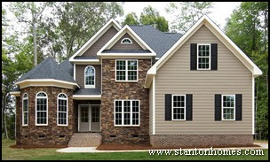 Home Exterior Siding what does your exterior siding and paint look like Top 7 New Home Exterior Types North Carolina New Home Exteriors