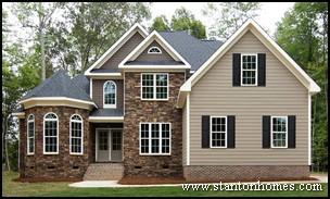 Top 7 New Home Exterior Types   North Carolina New Home Exteriors