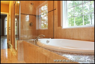 Tile Tub Surround Ideas | Custom Homebuilders Raleigh