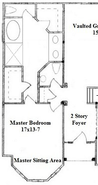 Superbe Master Suite Layout #3   Lowery