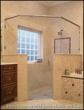 2014 Master Bathroom Trends   NC New Home Shower Enclosure Styles