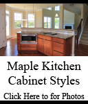 Maple Kitchen Cabinet Styles | Photos of Maple Cabinets