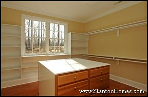 Accessible Home Master Closet