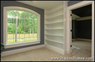Master Suite Closet Storage Design