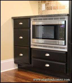 Merveilleux Kitchen Microwave Placement
