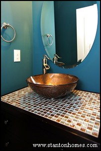 Bathrooms with Tile Mosaics