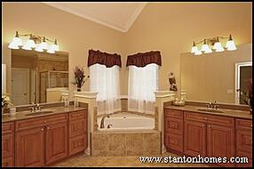 2012 Custom Home Master Bathroom Design