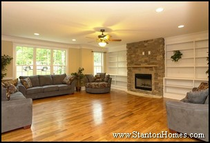 Raleigh New Home Fireplace Styles and Trends | Fireplace Ideas 2012