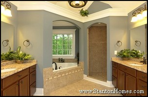 Most Requested Master Bath Features | Plant Shelves