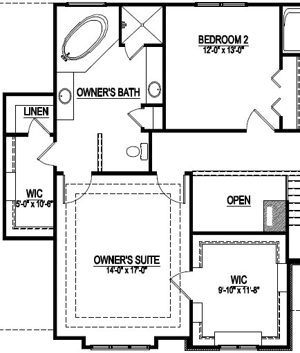 Master Suite Layout #5   Penelope