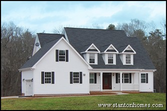 Country House Plans   Country Style New Homes in Raleigh, NC