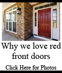 Popular Front Door Colors | Red Front Doors