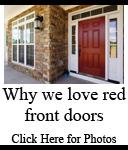 Popular Front Door Colors | Red Front Doors