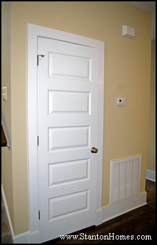 Interior Door Style 1 The Rockport & 8 Door Styles   NC New Home Door Styles